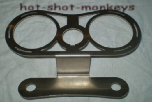Hot Shot Monkeys Tacho Halter, 2 x 55mm
